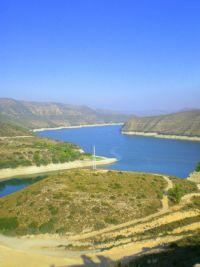 Ein toller Ausblick über den Caspe-Stausee