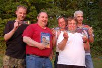 Das fröhliche Camping-Team vom Südufer!
