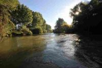 Wildes Wasser am Ebro...