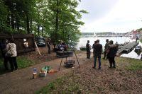 Die Lage des Bootshauses ist schon genial am Möhnesee!