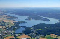 Der Möhnesee ist Ulis wichtigstes Guidinggewässer. Er wohnt auch dort... (Foto Ruhrverband)