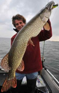 pike with firm Slottershad